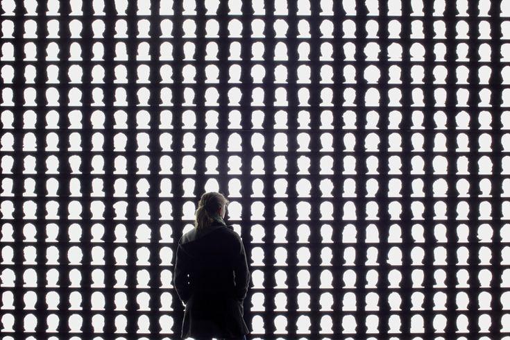 the geometry of conscience memorial by alfredo jaar