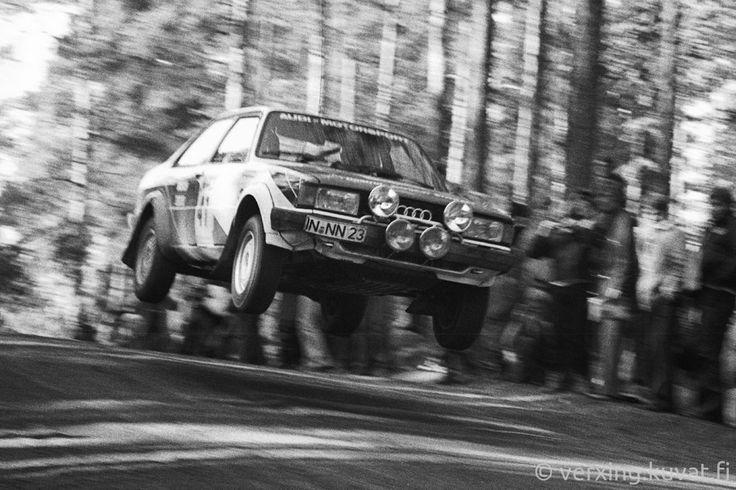 41 Freddy Kottulinsky - Michael Schwagerl , Audi 80 , yleiskilpailun 27.