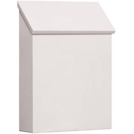 Salsbury Industries Traditional Mailbox, Standard, Vertical Style, White