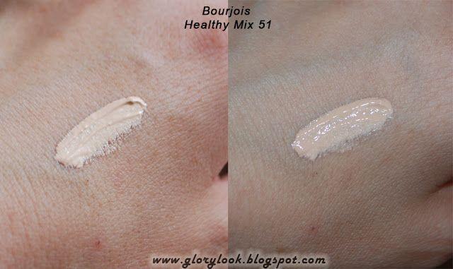 Тональный крем Bourjois Healthy Mix в оттенке 51 Light vanilla, обзор ~ GLORYlook