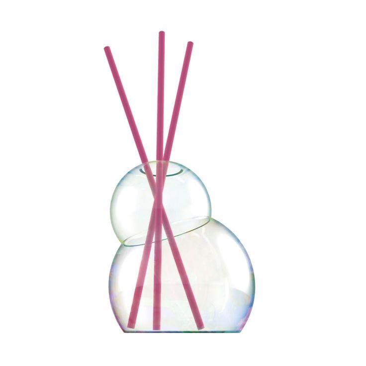 Bubble Duftdiffusor inkl. 6 Duftstäbchen Rose Bouquet