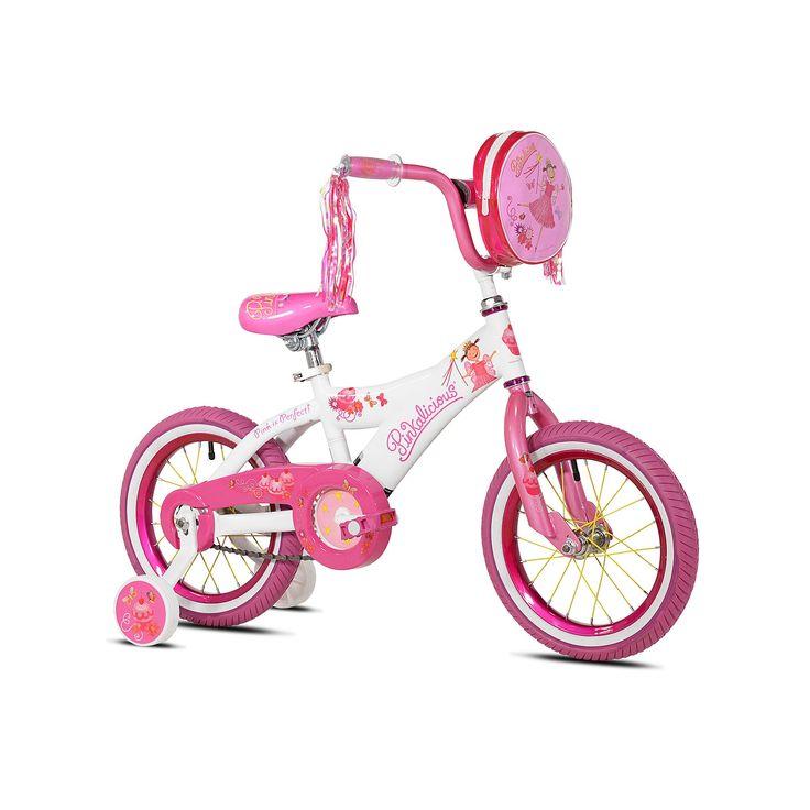 Girls Kent 14-Inch Pinkalicious Bike with Training Wheels, Pink