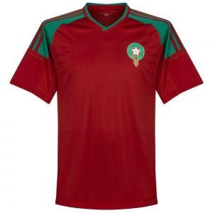 7b637e86850 2018 World Cup Jersey Morocco Home Replica Red Shirt [BFC776 ...