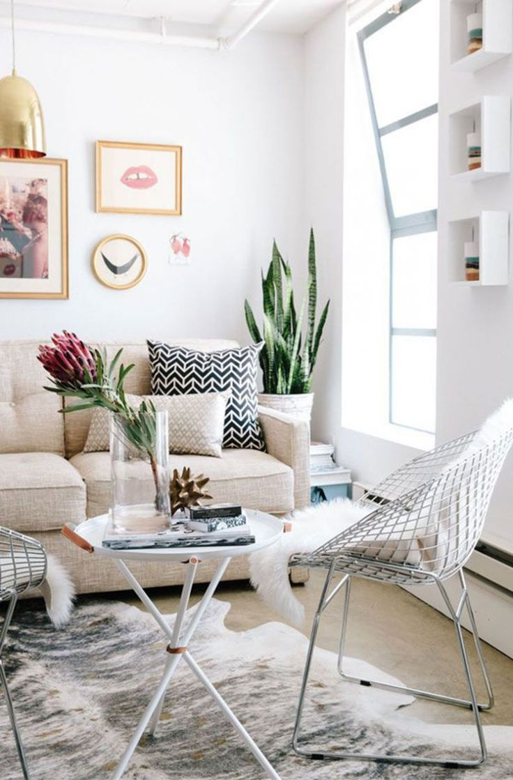 Best of 500 contemporary interiors - How To Arrange Furniture The Right Way Theeverygirl