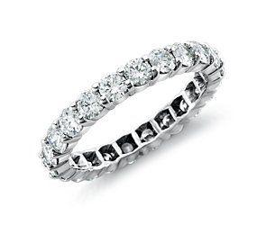 Diamond Eternity Ring in Platinum (2 ct. tw.)  #bluenile