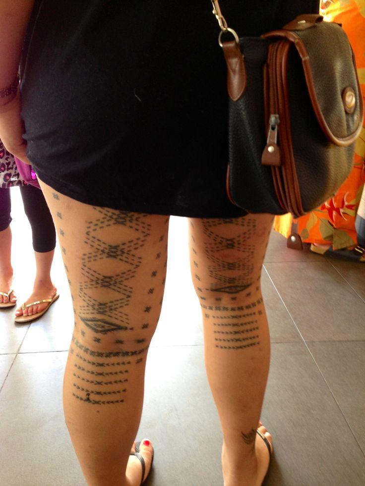 Malu - Samoan tattoo for women | Tattoos | Pinterest