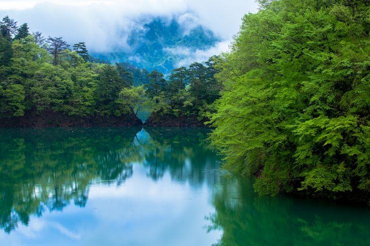 Lake Okutama Tokyo 奥多摩湖