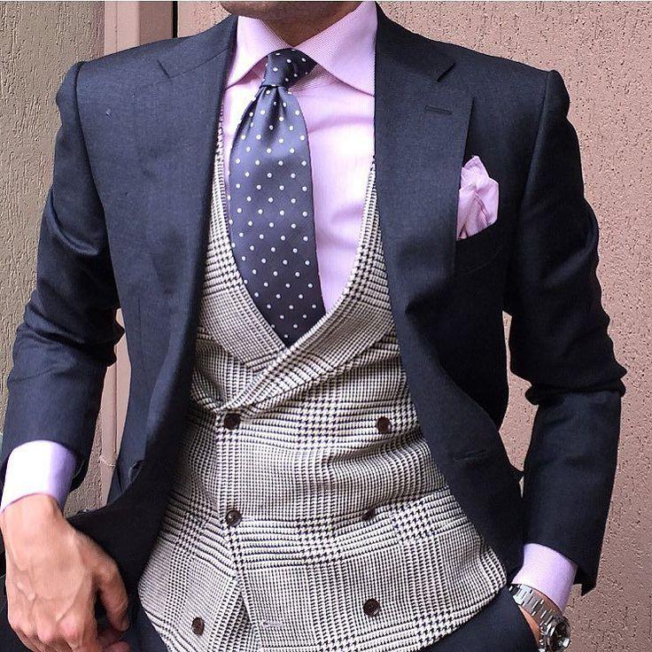 Men's Pocket Square Inspiration #2