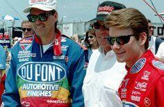 Ray E, Mr Hendrick and Jeff G