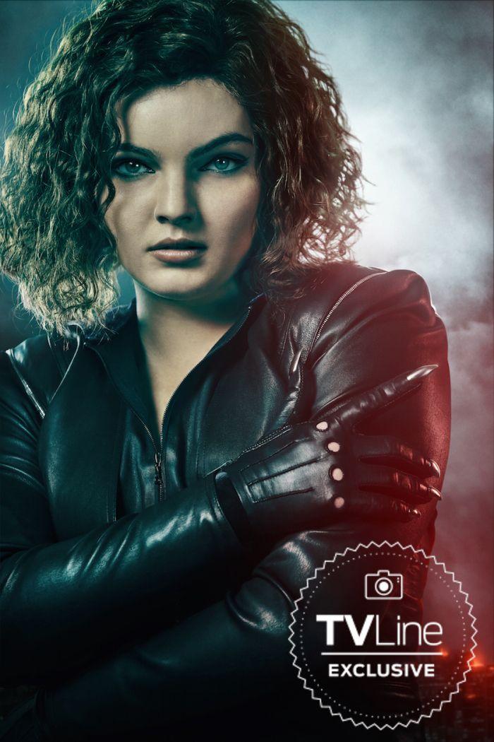 Gotham Final Season Cast Photos Selina Kyle Gotham Gotham
