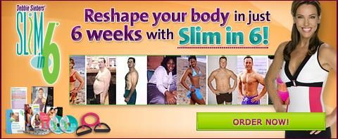 Beachbody - Slim in 6, get slim in just six weeks with Debbie Siebers.