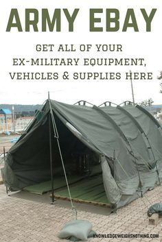 Are you interested in some ex-government and ex-military equipment? If so, you've come to the right place...