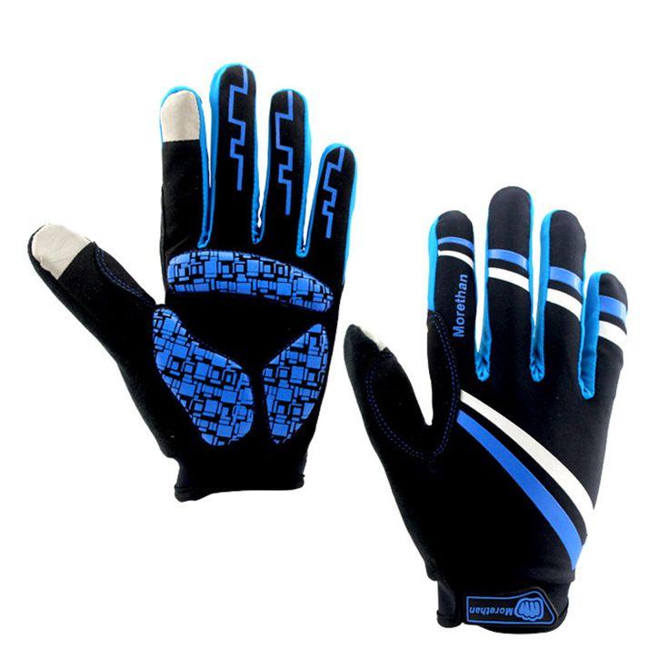 New outdoor sports men women breathable full finger gloves