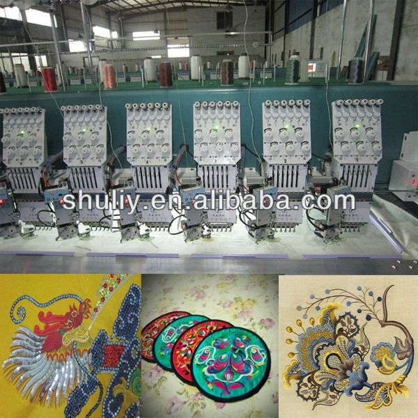 Embroidery Machine/embroidery machine prices/computer embroidery machine price(0086-13837171981)
