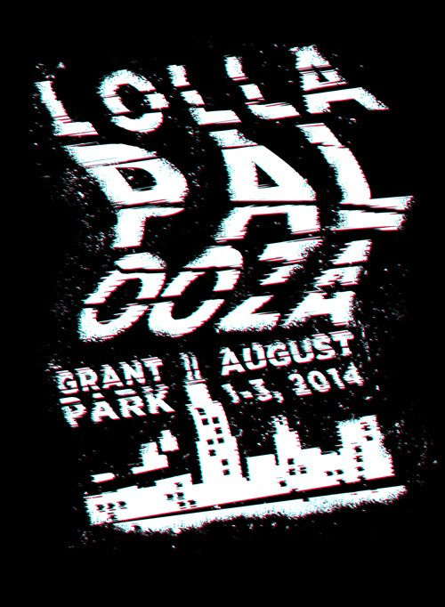 Lollapalooza music festival poster | Hunter Ellenbarger in Graphic Design