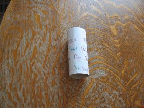 Almost Unschoolers: Doubting Thomas Tube - Super Simple Easter Craft