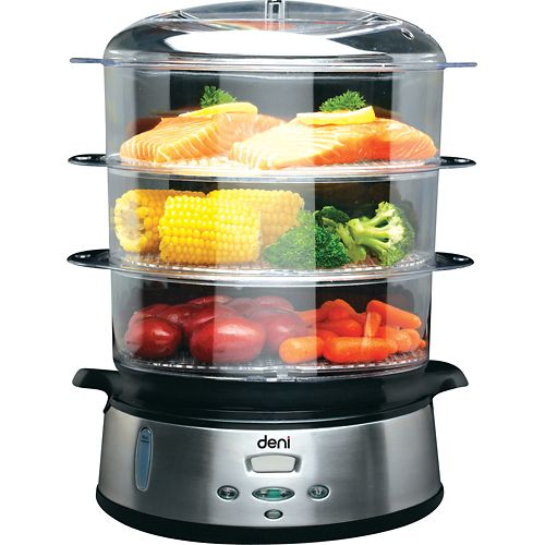 Food Steamer by Deni - This 3-tier Steamer is perfect! It saves me so much time on steaming my food. Definitely worth it for adapting a clean eating lifestyle.