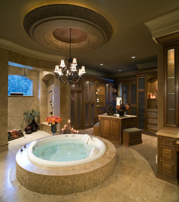 7 best images about awesome indoor hot tub on pinterest for Bathroom hot images