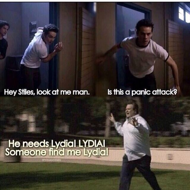 Stiles doesn't need Lydia bruh....he needs me (aka his wife that he doesn't know yet)
