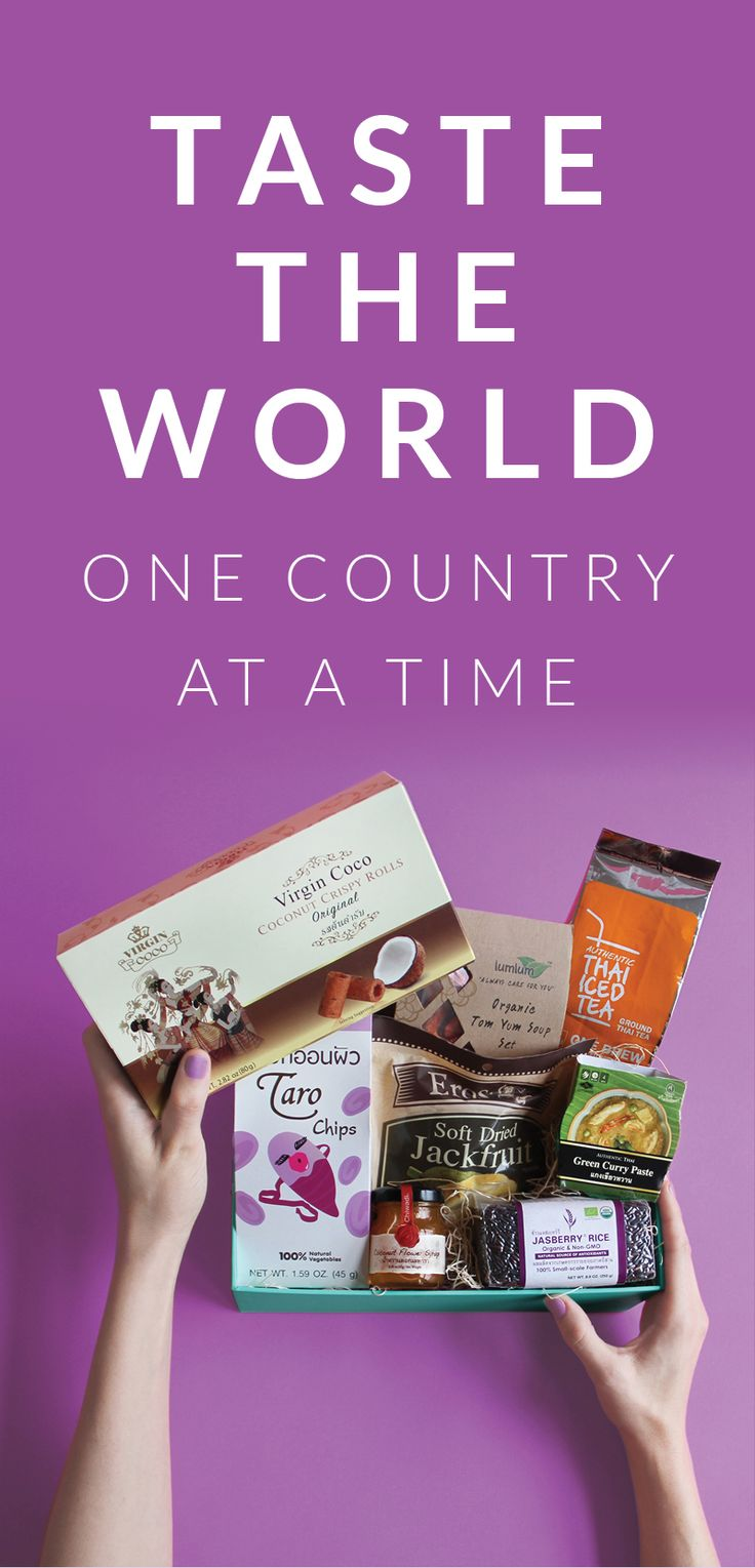 If you're the type of person who's passionate about food and adventure, we have the box for you: lovingly curated by expert chefs, each box contains recipes, cultural experiences, and so much more. Try The World today with a FREE Paris Box when you sign up for our new Thailand Box!