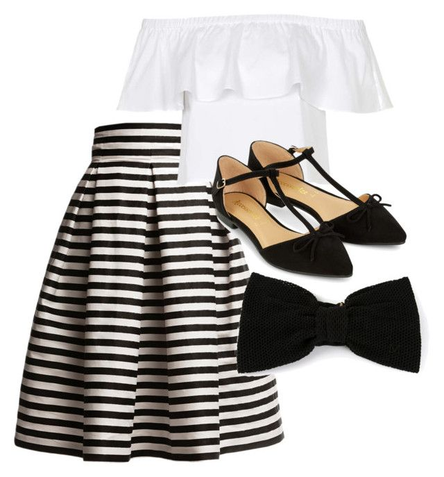 """""""Untitled #48"""" by agnisagynaika on Polyvore featuring Rumour London, Topshop, Accessorize and Maison Michel"""