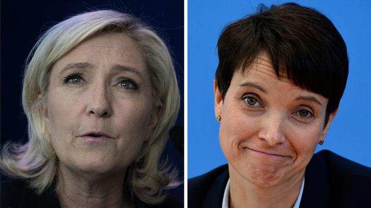 Les dirigeants du Front national (FN), du Parti pour la Liberté (Pays-Bas), de Alternative pour l'Allemagne (AfD) ou de la Ligue du Nord italienne se sont rassemblés à Coblence, en Allemagne, pour donner leur vision d'une Europe «libérée» de l'UE.