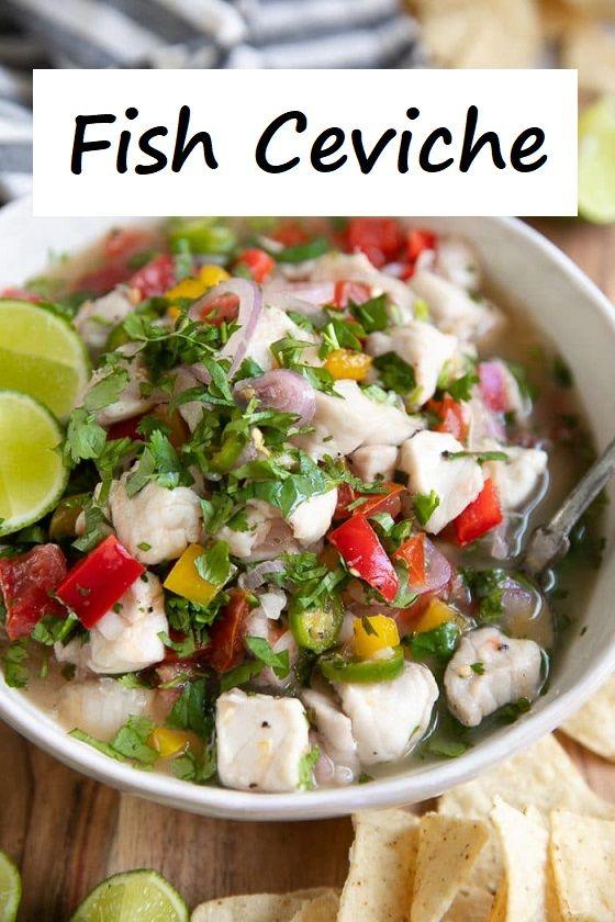 FISH CEVICHE RECIPE (HOW TO MAKE CEVICHE)