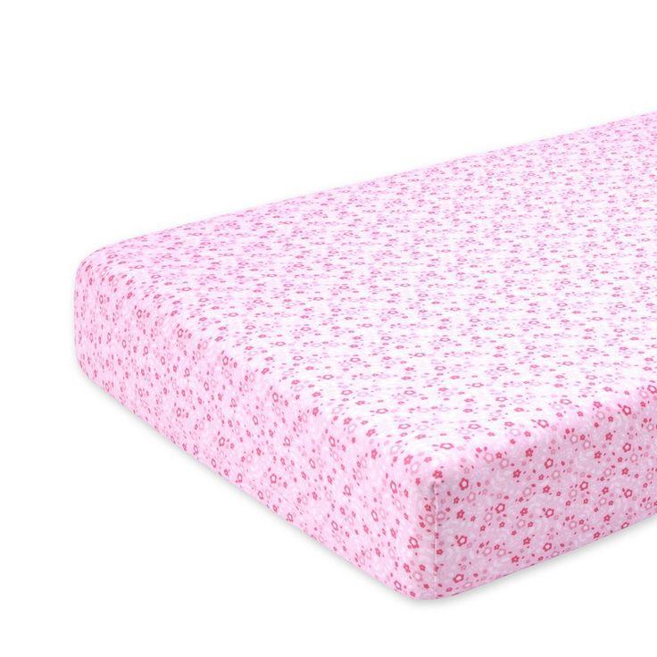 Roos hoeslaken voor een bed van 70x140cm Lizie darling van het merk bemini (vroeger babyboum). Het hoeslaken is soepel en rekbaar vervaardigd uit jersey katoen en is geschikt voor elke matras dikte.
