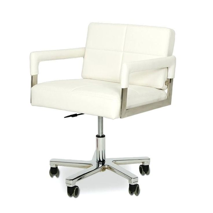 31 best White Rolling Desk Chair images on Pinterest ...