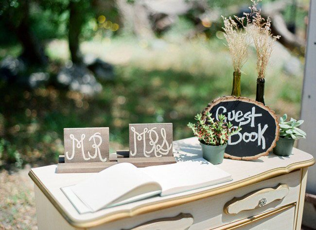 24 best Wedding Guests Book Table images on Pinterest | Guest book ...