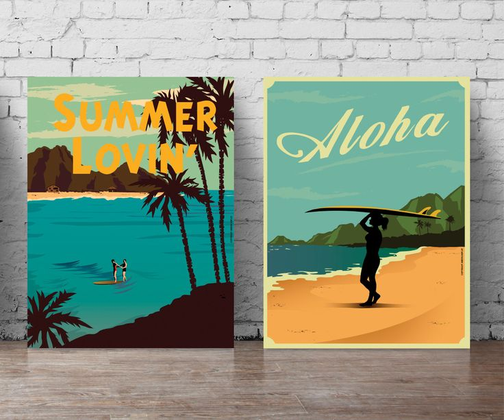beach poster set A5-A0, large wall decal beach wall art poster surfboards print set surfer at the beach summer waves ocean wall decal 198 by PosterSet on Etsy https://www.etsy.com/listing/490197358/beach-poster-set-a5-a0-large-wall-decal