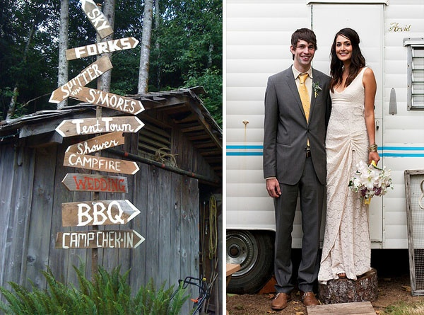 a country themed wedding, love!