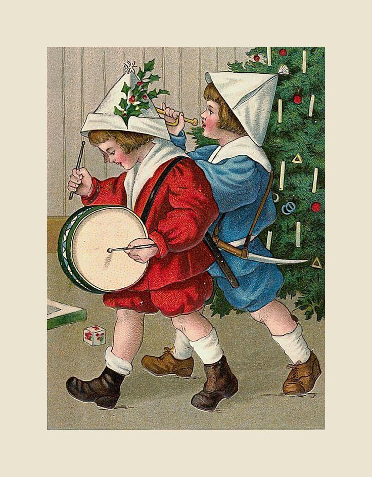 Эффектами дню, ирландские открытки на рождество
