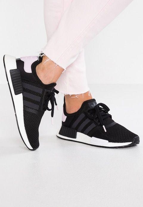 NMD_R1 Sneaker low core blackfootwear whiteclean pink
