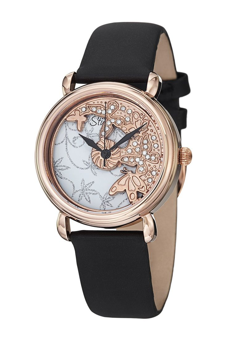 Women's Swiss Spinning Dial Watch by Stuhrling on @nordstrom_rack