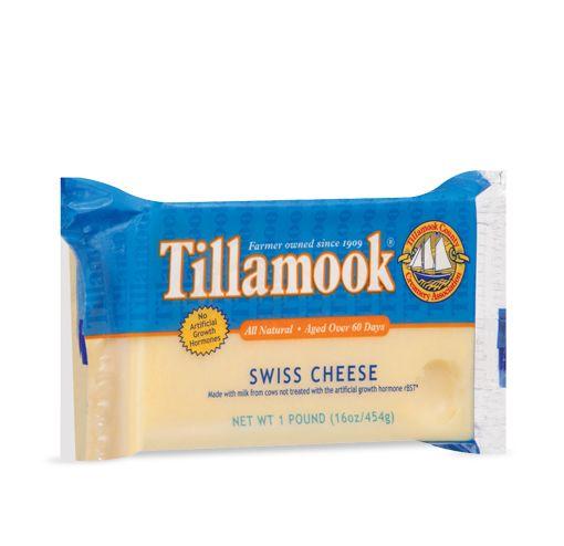 Love all Tillamook Cheese, especially Swiss!Tillamook Swiss, Tillamook Cheese