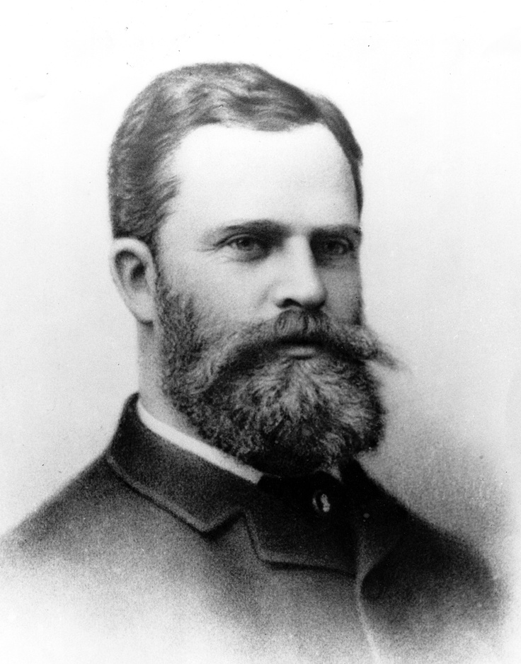 "George H. Fullerton was just 44 when, as president of the land and development arm of the Santa Fe Railroad, made a decision to route the railroad's Los Angeles to San Diego line through a fledgling townsite set in a field of tall mustard. In turn, the railroad gained, free of charge,  every ""right of necessity"" plus a half-interest in the townsite, and in appreciation, the town was named Fullerton. George Fullerton was born in Brockton, Mass. in 1843 and died in Los Angeles on January 29…"