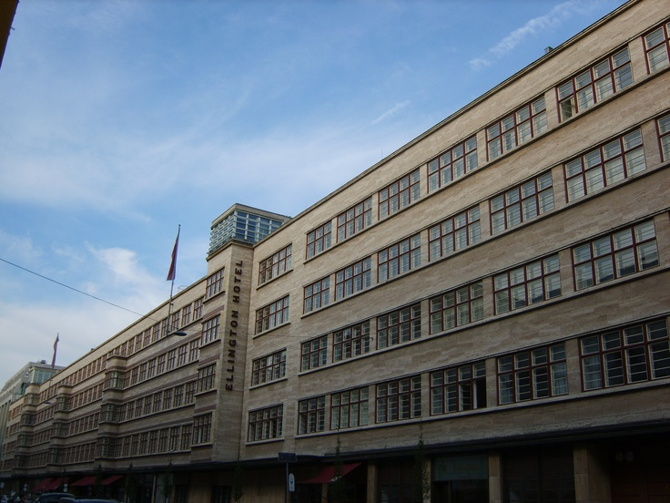 Ellington hotel, Berlin (opened in 1931)