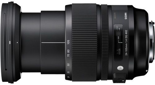 Sigma 24-105mm f/4 DG OS HSM lens officially announced