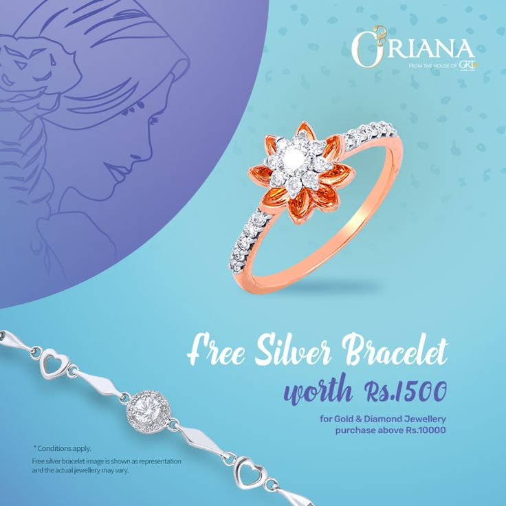 She won't be able to resist our Oriana's womens day collection! Gift your special women this Women's day from Oriana! Check out the running offers : Www.Oriana.com #Womensday #Offer #freebie #silver #buy #gold #diamond #fashion #OrianabyGRT #gift #respect