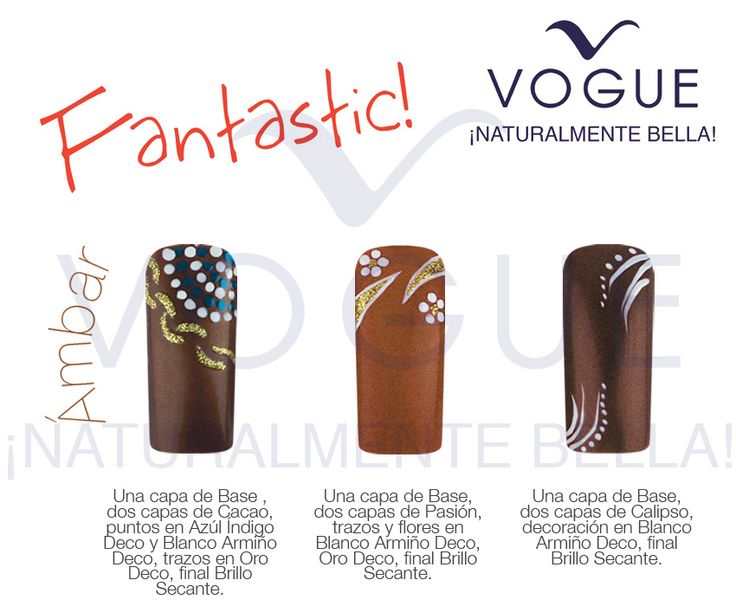 16 best esmaltes vogue vogue nail laquer images on for Decoracion de unas con esmalte