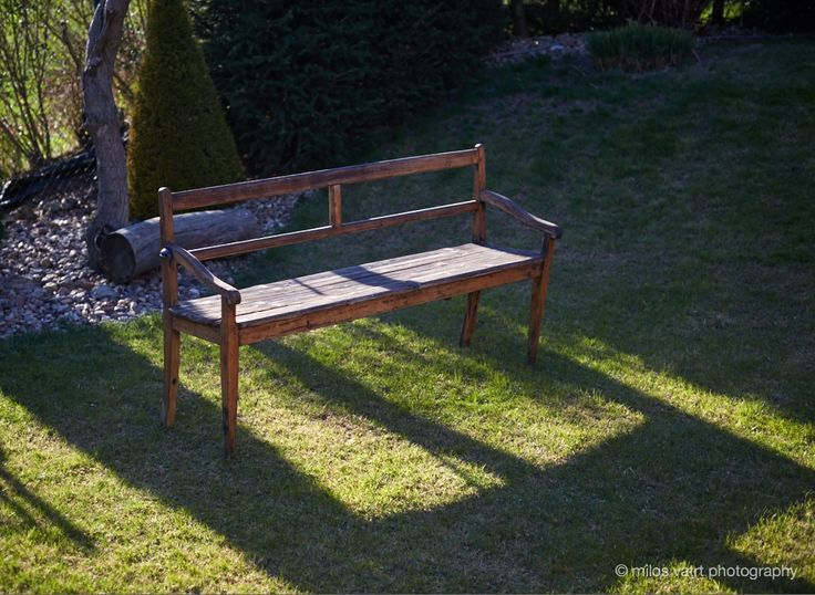 garden bench /  photo decoration  / miloš vatrt photography / studio  / my studio decorations