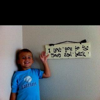 The sweetest little guy on the planet ...mwaaaahhhh <3: Planets Mwaaaahhhh