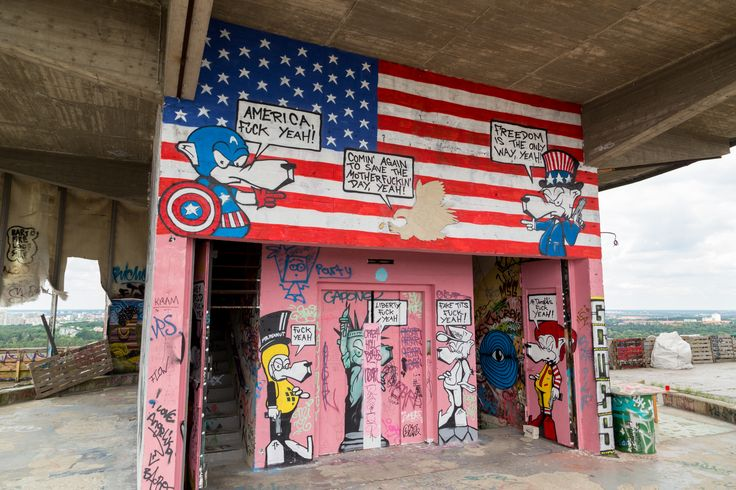 The US Spy Station Built on a Mountain made from the Wartime Ruins of Berlin: Teufelsberg >>>> http://www.confiscatedtoothpaste.com/the-former-us-spy-station-built-on-the-ww2-ruins-of-berlin-teufelsberg/