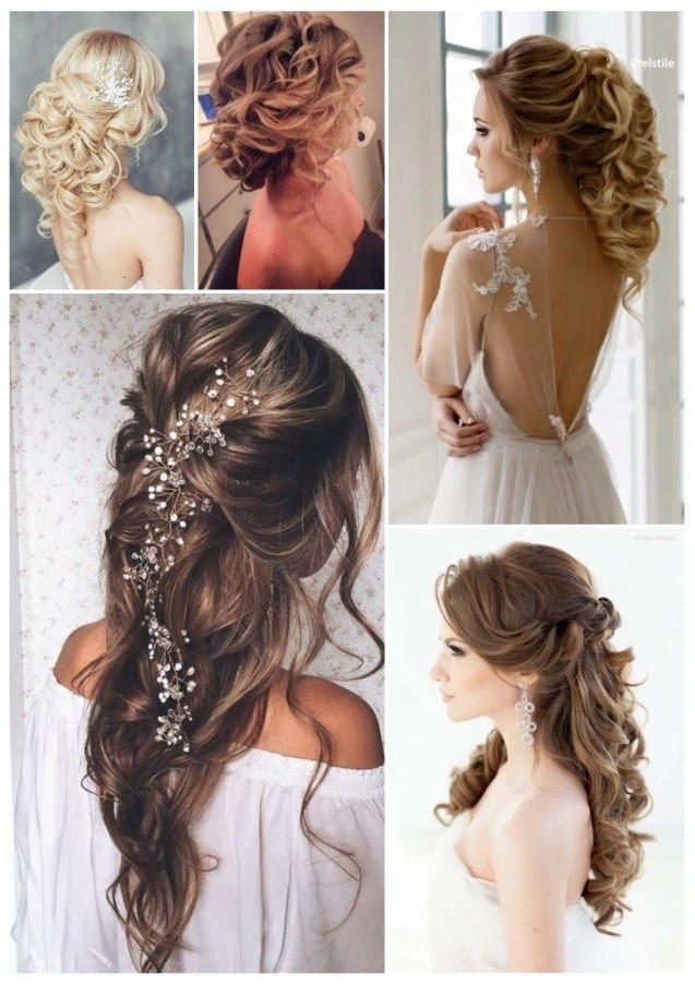 Peinados Para Fiesta Faciles Hermosos Y Elegantes Peinados Semirecogidos Para Fiestas Peinados Sencillos Peinados