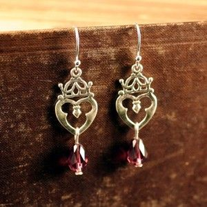 Luckenbooth EarringsScottish Luckenbooth, Irish Jewelry, Luckenbooth Earrings, Favorite Jewelry