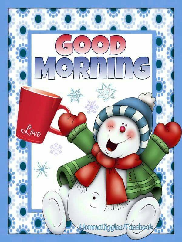 Winter Good Morning Snowman Quote Pictures, Photos, and Images for ...