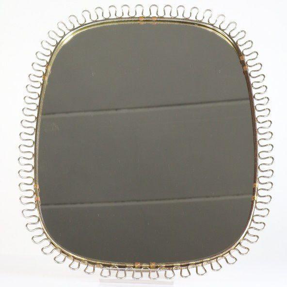 Josef Frank für Svenskt Tenn Schlaufen Wand Spiegel Design Vintage Mirror 50er  | eBay
