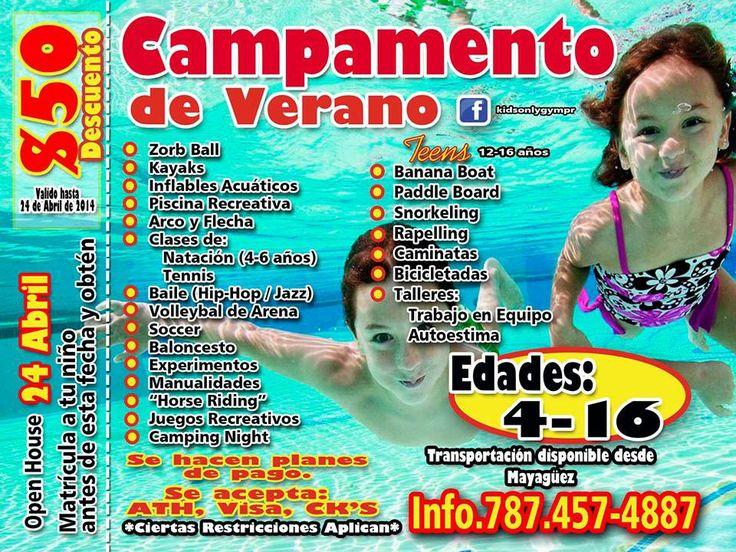 Campamento De Verano Club Deportivo Del Oeste Cabo Rojo