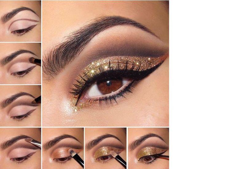 Wil jij vanavond vooral schitteren met je ogen? Wij zochten de mooiste oogschaduwlooks voor je uit. Bron: nadyana.com  Bron: qserabeauty.com...